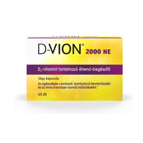 D-Vion D3 2000NE kapszula (120x)