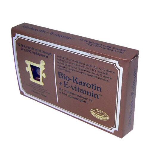 Bio  -Karotin+E Pro-vitamin A/E vitamin kapszula (60x)