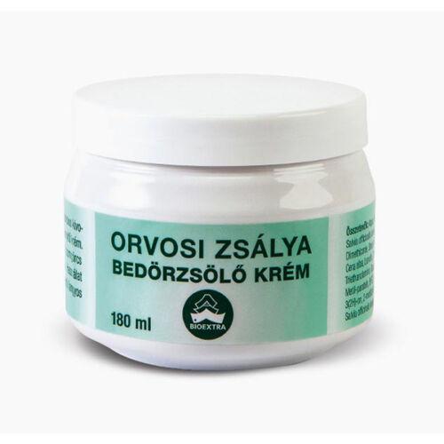 Bioextra orvosi zsályás bedörzsölő krém (180ml)
