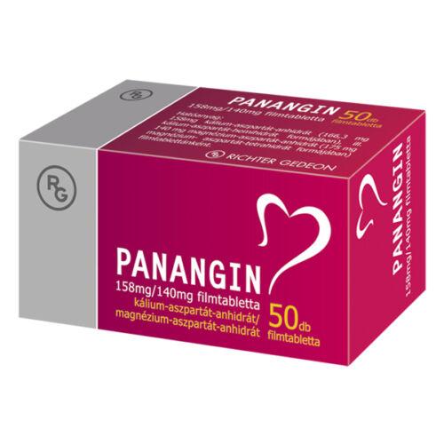 Panangin 158 mg/140 mg filmtabletta (50x)