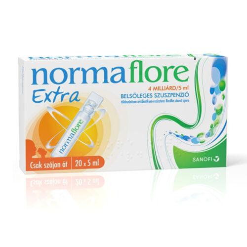 Normaflore Extra 4 milliárd/5 ml belsőleges szuszp (20x5ml tartályban)