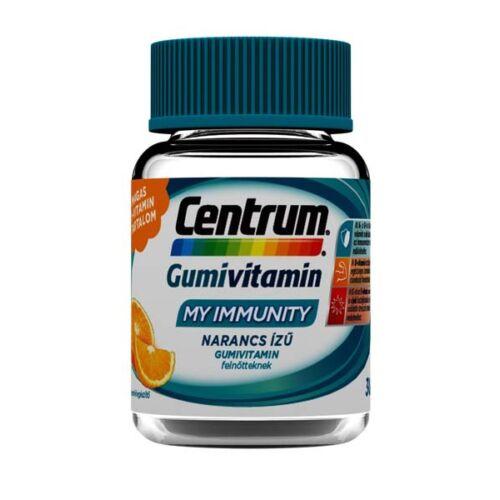Centrum My Immunity Felnőtt gumivitamin Narancs (30x)