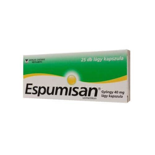 Espumisan Gyöngy 40 mg lágy kapszula (25x)
