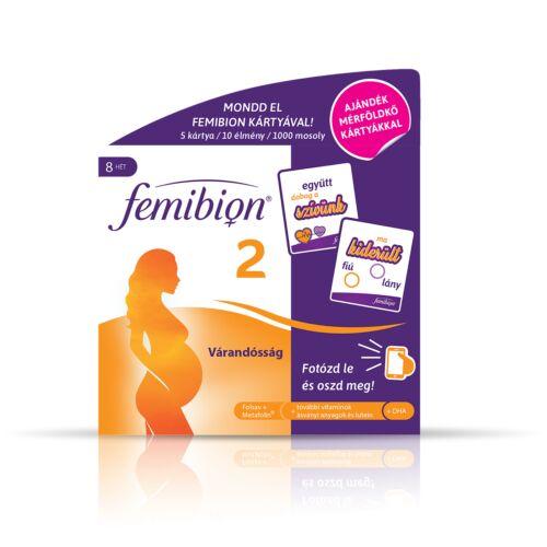 Femibion 2 Várandosság ftbl.+kapsz. 56+56