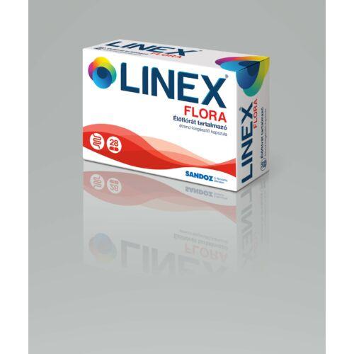 Linex Flora élőflórát tartalmazó étr.kieg. kapszul (28x)