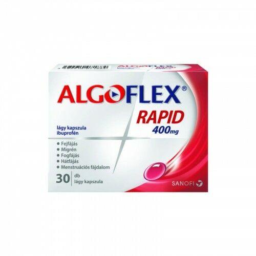 Algoflex Rapid 400 mg kapszula (30x)