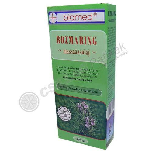 Biomed rozmaring masszázsolaj (180ml)