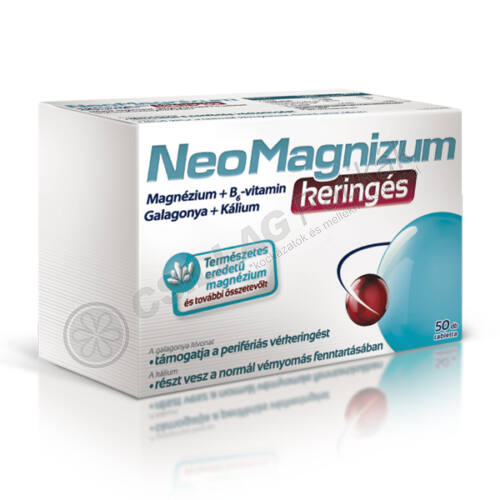 NeoMagnizum keringés magnézium tabletta (50x)