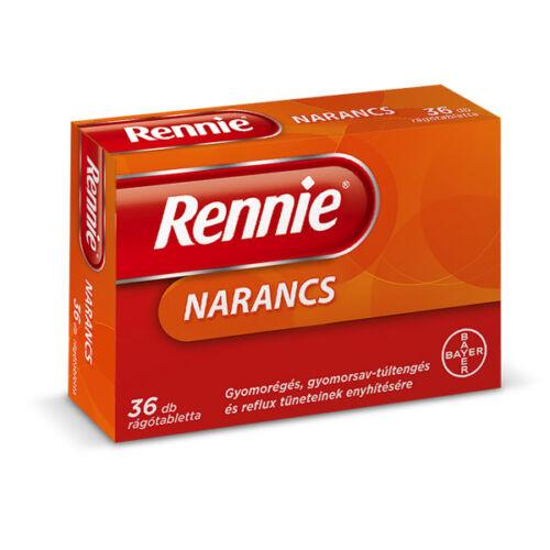 Rennie rágótabletta Narancs (36x)