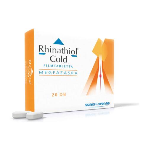 Rhinathiol Cold 200 mg/30 mg filmtabletta (20x)
