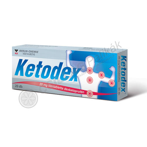 Ketodex 25 mg filmtabletta (10x)
