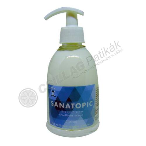 Sanatopic bőrpuhító krém (300ml)