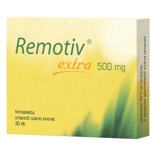 Remotiv extra  500 mg filmtabletta (30x)