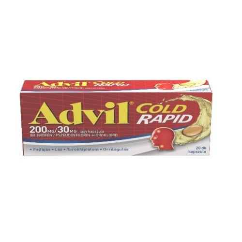 Advil Cold Rapid 200 mg/30 mg kapszula (20x)
