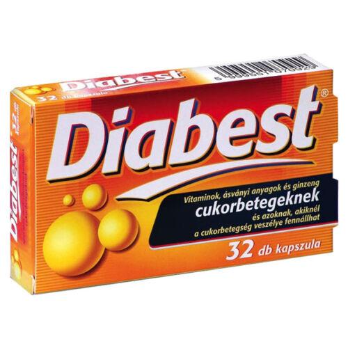 VitaPlus Diabest spec. tápszer kapsz. (32x)