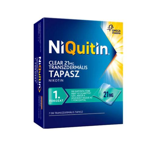 NiQuitin Clear 21 mg transzdermális tapasz (7x)