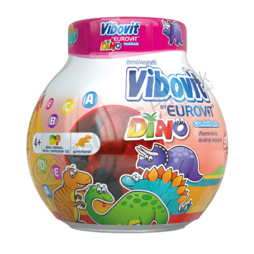 Vibovit By Eurovit Dino gumivitamin (50x)