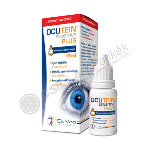 Ocutein Sensitive Plus szemcsepp (15ml)