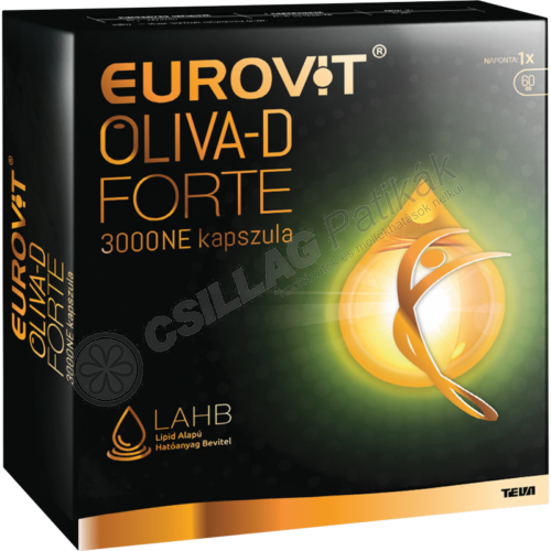 Eurovit Oliva-D 3000NE Forte kapszula (60x)
