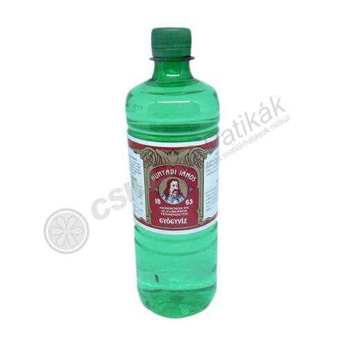 Hunyadi János gyógyvíz PET palackos (0,7 lit.)
