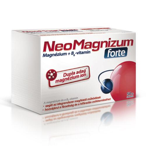 NeoMagnizum Forte magnézium tabletta (50x)