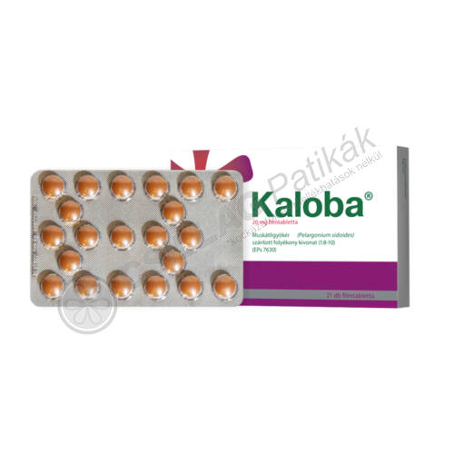 Kaloba 20 mg filmtabletta (21x)