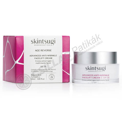 SKINTSUGI Age reverse antiaging hatású nappali krém spf30 (50 ml)