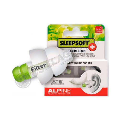 Füldugó ALPINE Sleepsoft (1pár)