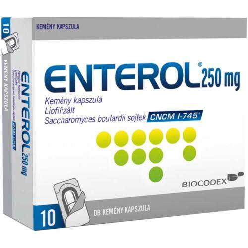 Enterol 250 mg kemény kapszula (10x bliszter)