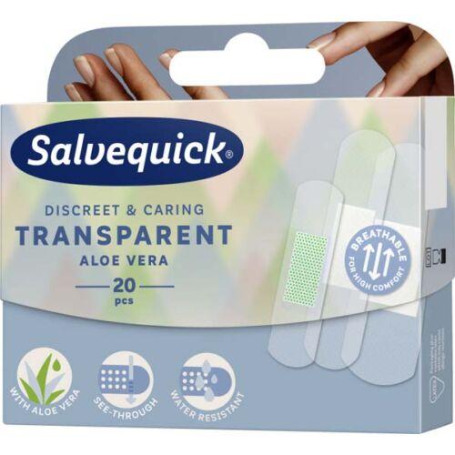 Salvequick sebtapasz átlátszó aloés (20x)