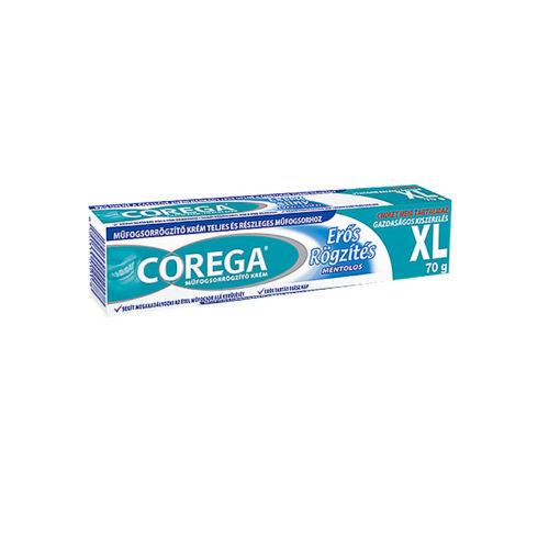 Corega műfogsorrögzítő krém erős rögzítés (40g)