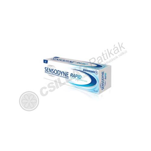 Sensodyne fogkrém Rapid (75ml)
