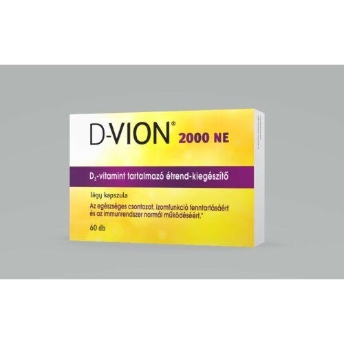 D-Vion D3 2000NE kapszula (60x)