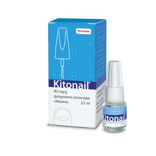 Kitonail 80mg/g gyógyszeres körömlakk (3,3ml)