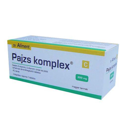 Dr.Aliment Pajzs Komplex tabletta (40x)