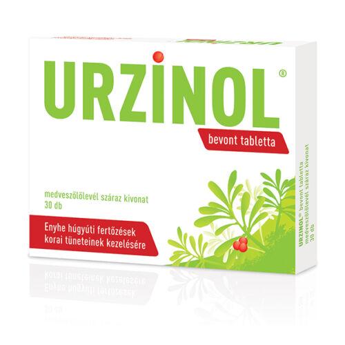 Urzinol bevont tabletta (30x)