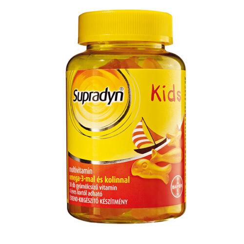 Supradyn Kids omega-3 gumicukor (30x)