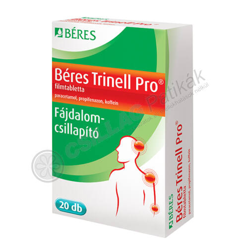 Béres Trinell Pro filmtabletta (20x)