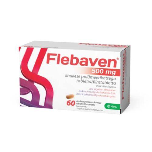 Flebaven  500 mg filmtabletta (60x)