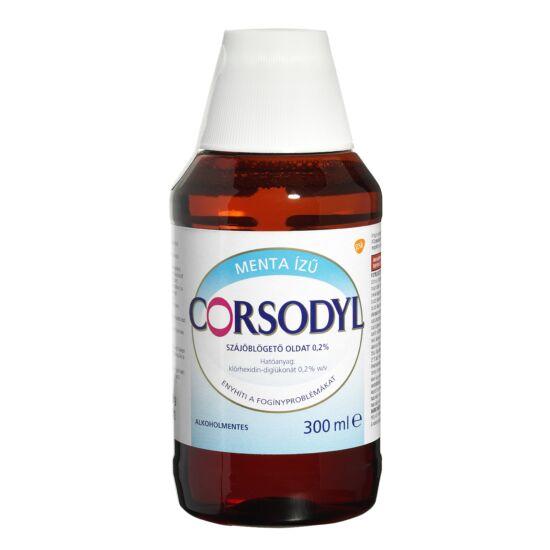 Corsodyl alkoholmentes szájöblögető oldat, 300 ml