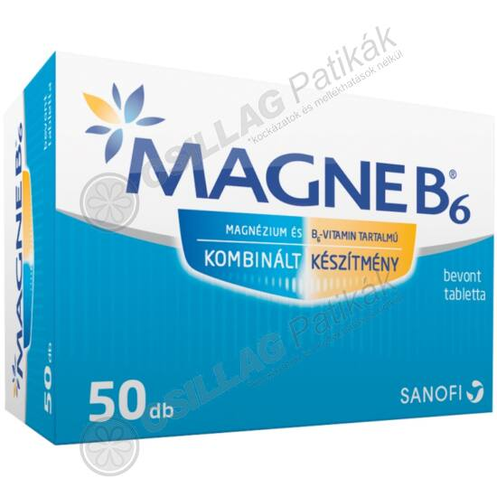 Magne B6 bevont tabletta (50x)