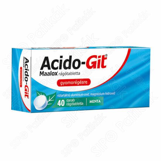 Acido-GIT Maalox rágótabletta (40x)