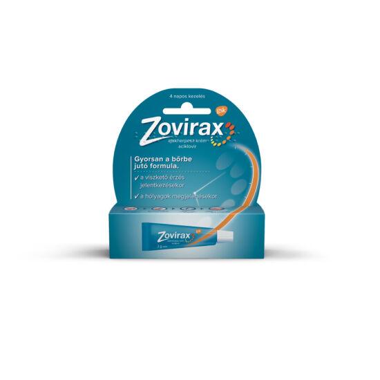 Zovirax ajakherpesz krém (1x2g)