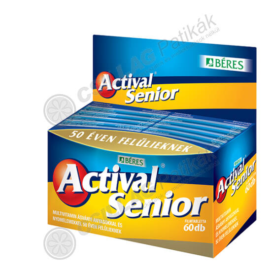 Actival senior filmtabletta (60x)