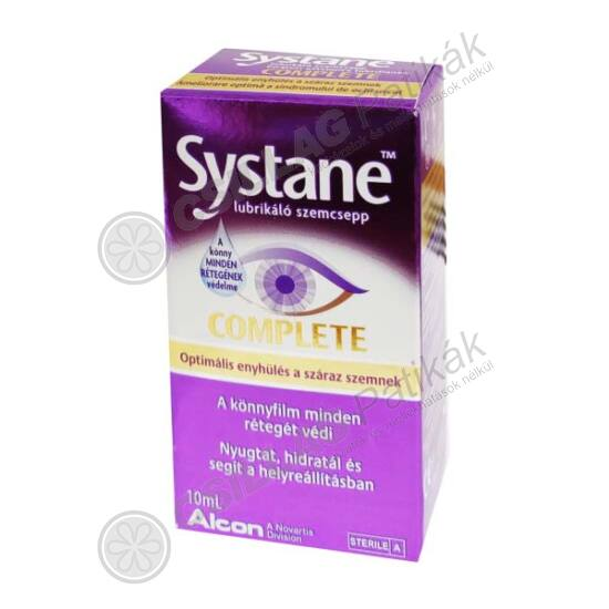 Systane Complete szemcsepp (10ml)