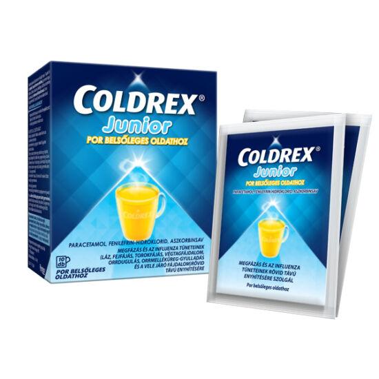 Coldrex Junior por belsőleges oldathoz (10x)