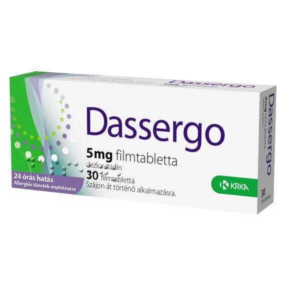 Dassergo 5 mg filmtabletta(régi név:Esradin) (30x)