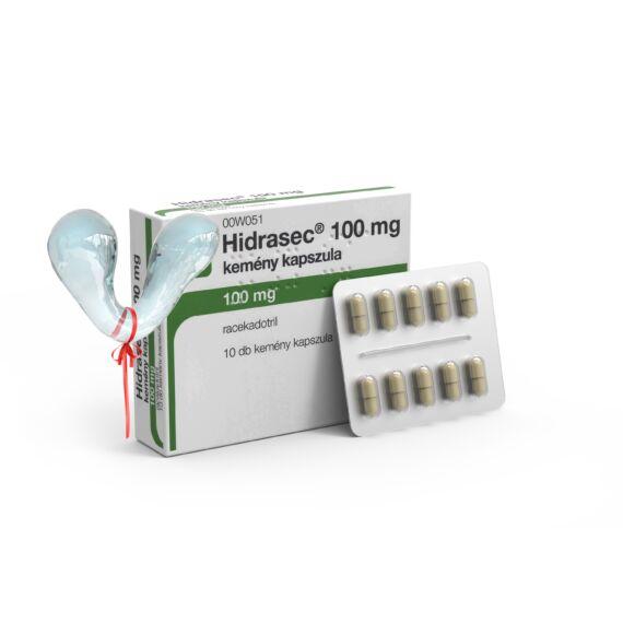Hidrasec 100 mg kemény kapszula (10x)