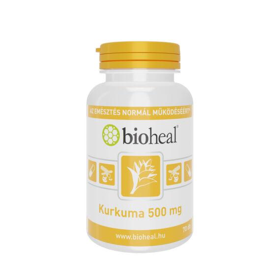Bioheal Kurkuma 500 mg kapszula (70x)