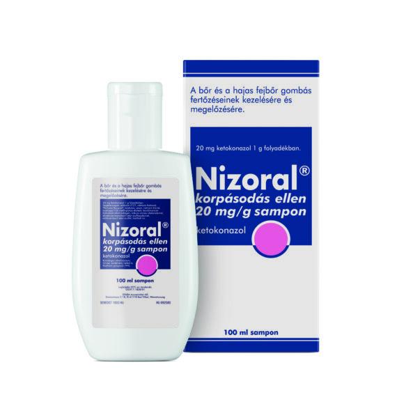 Nizoral 20 mg/g shampon korpásodás ellen (100ml)